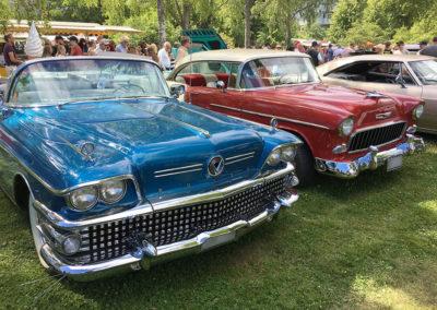 American car show 2017